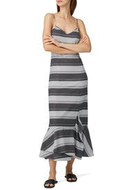 Striped Slip Dress by Thakoon Collective
