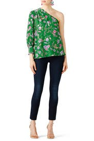 Floral Rosie Blouse by Shoshanna