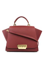 Red Eartha Soft Top Handle Bag by ZAC Zac Posen Handbags