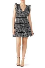 Sierra Frill Dress by BARDOT