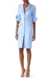 Sky Blue Suit Dress by Badgley Mischka