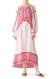 Pink Combo Regina Dress by Dodo Bar Or