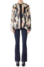 Faux Fur Beca Jacket by Waverly Grey