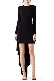 Black High Low Dress by Antonio Berardi