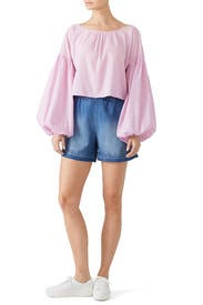 Puff Sleeve Anneke Top by M.i.h. Jeans