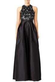 Jadore Sequin Gown by ML Monique Lhuillier
