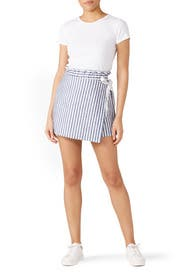 Side Tie Skort by Fifteen Twenty