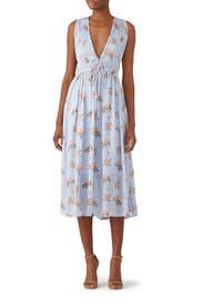 Blue Miranda Dress by ASTR