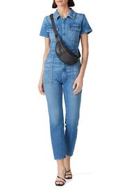 Military Jumpsuit by GOOD AMERICAN