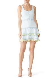 Giupure Lace Mini Dress by Jonathan Simkhai