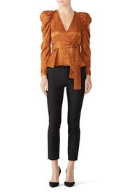 Toffee Palermo Top by A.L.C.