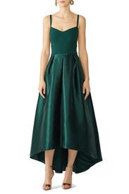 Green Birdie Gown by Hutch