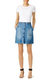 Sorren Denim Skirt by Joie