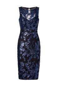 Garden of Sequins Dress by Badgley Mischka