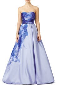 Lilac Bloom Gown by ML Monique Lhuillier