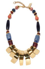 Totem Relief Necklace by Lizzie Fortunato