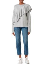 Mona Sweatshirt by Diane von Furstenberg