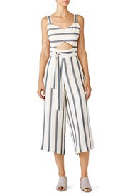 Striped Lianna Jumpsuit by Saylor