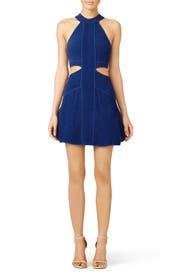 Cobalt Mirielle Dress by Ronny Kobo