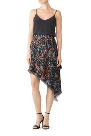Blink Asymmetric Skirt by Iro