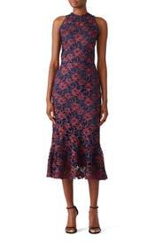Tupper Midi Dress by Shoshanna