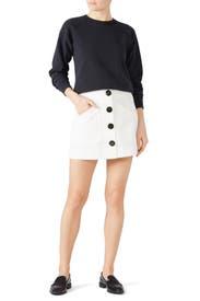 Short Cargo Skirt by Coach