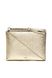 Gold Tupi Pouch by Nina Ricci Accessories