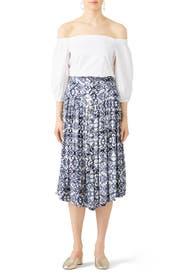 Lovers Dream Midi Skirt by Free People