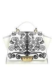 Printed Eartha Soft Top Handle Bag by ZAC Zac Posen Handbags