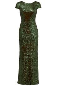 Forest Gown by Badgley Mischka