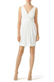 White Fifth Avenue Showstopper Dress by Badgley Mischka