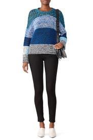 Gradient Knit Sweater by Derek Lam 10 Crosby