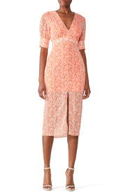 Peaches Midi Dress by The East Order