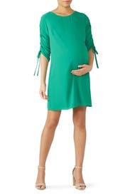 Saddle Maternity Dress by Amanda Uprichard