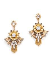 Bloom Flare Chandelier Earrings by Elizabeth Cole