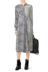 Leopard Karen Dress by rag & bone