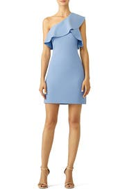 Blue Jerard Dress by Elizabeth and James