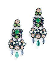 Blue Chandelier Earrings by Tory Burch Accessories