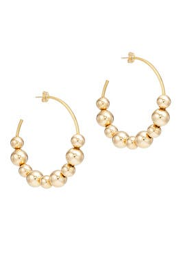 Spherical Hoop Earrings by Daughter