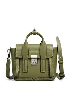 Green Pashli Mini Satchel by 3.1 Phillip Lim Accessories