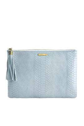 Blue Uber Clutch by Gigi New York