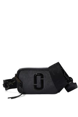 The Black Snapshot DTM Crossbody by Marc Jacobs Handbags