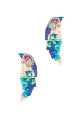 Multi Bird Earrings by Mignonne Gavigan