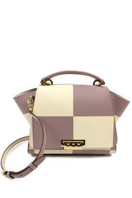 Checkmate Eartha Medium Soft Top Handle Bag by ZAC Zac Posen Handbags