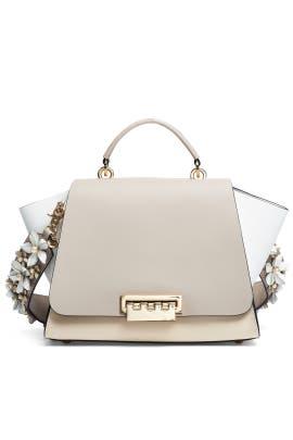 Cobblestone Eartha Soft Top Handle Bag by ZAC Zac Posen Handbags