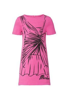 Kids Sketch Dress by Moschino Kids