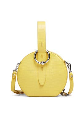 Yellow Kate Circle Bag by Rebecca Minkoff Accessories