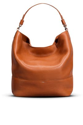 Tan Relaxed Hobo by Shinola