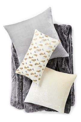 Lush Velvet Platinum Living Room Bundle by West Elm