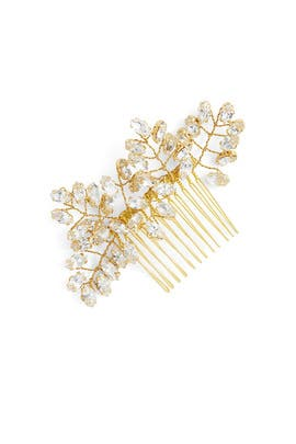 Gold Crystal Headpiece by Ever by Happily Ever Borrowed
